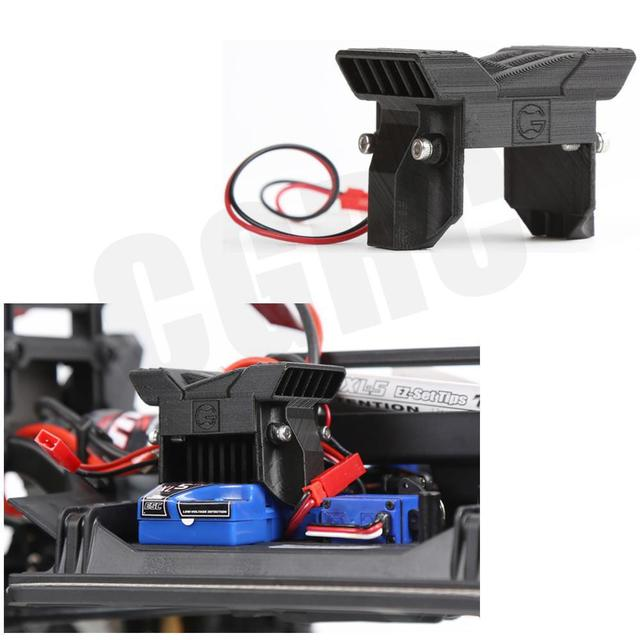 TRX4 ESC Radiator Cooling Fan  Protective Cover For 1/10 Rc Crawler Land Rover Defender  Traxxas Trx-4 Trx 4