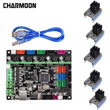 3D Printer parts MKS Gen L V1.0 Integrated controller PCB Board Reprap Ramps 1.4 support A4988/DRV8825/TMC2130 Driver 3D Printer стоимость