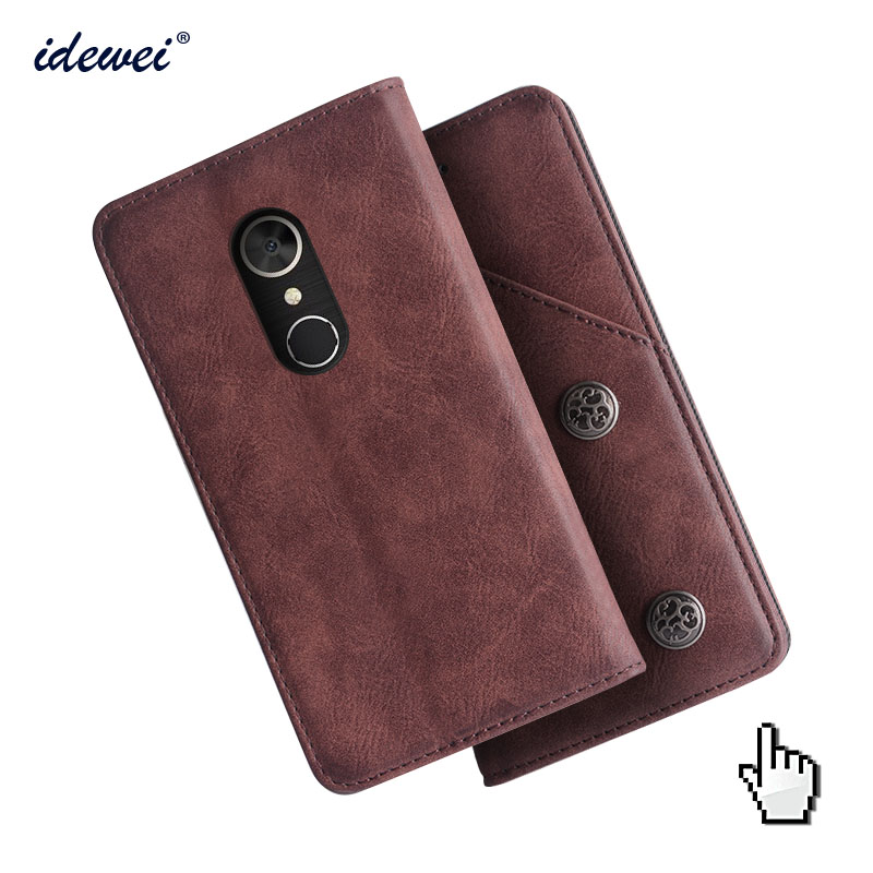 <font><b>Alcatel</b></font> <font><b>5</b></font> Case Cover Luxury Leather Flip Case For <font><b>Alcatel</b></font> <font><b>5</b></font> 5086A <font><b>5086Y</b></font> 5086D Protective Phone Case image