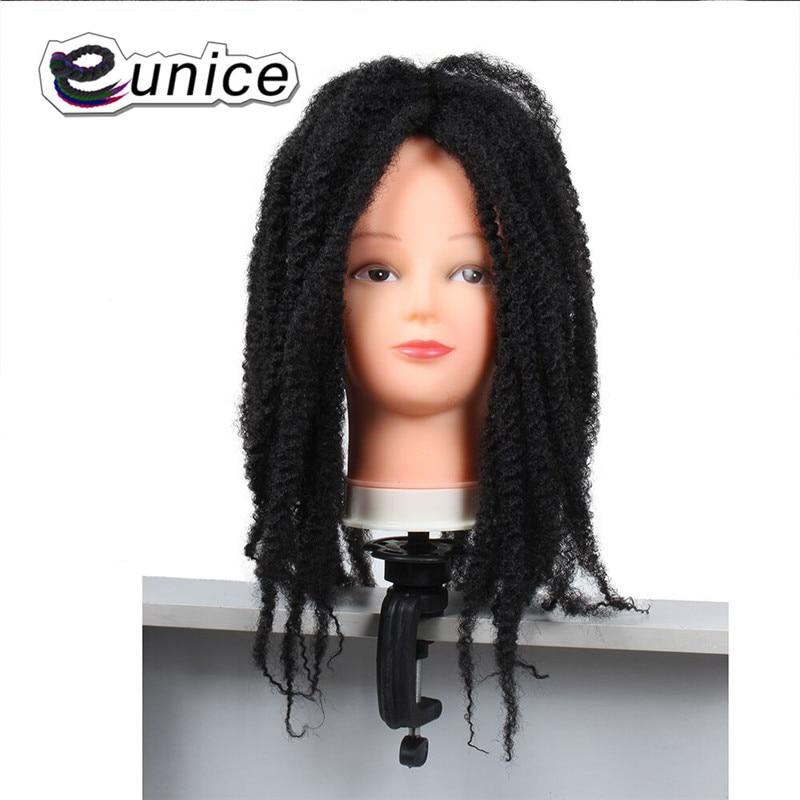 Marley Braids Hair Extension Synthetic Ombre Afro Kinky Crochet Kanekalon Braiding Hair (9)