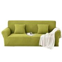 חדש גמיש למתוח כיסוי ספה, כיסוי ספה גדול אלסטי, עיצוב פשוט, רוכסן, רחיץ מכונה להסרה פרח צבע אופציונלי