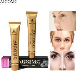 AIGOMC Новый Популярная косметика 14 цветов база основа для макияжа лица крышка корректоры лица крем кожи blemish уход за кожей глаз консилер