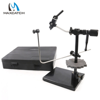 New Iron Rotary Fly Tying Vise With Heavy Duty Base Fly Hook Tool Fly Fishing Tackle Accesories
