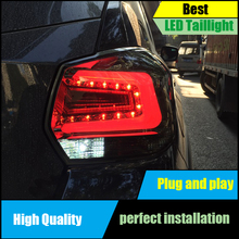 Car Styling Tail Lamps for Subaru XV Tail Lights 2013 2014 2015 2016 LED Taillight Rear Lamp Driving+Brake+Park+Signal все цены