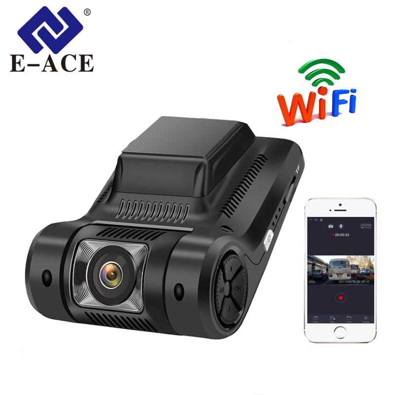E-ACE Mini Wifi Voiture DVR FHD 1080 p Dash Cam Nuit Vision Caméra Novatek 96658 Sony IMX322 Auto Registrator Vidéo enregistreur Dashcam