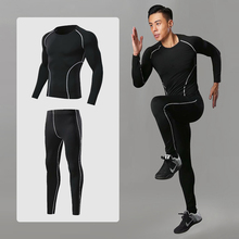 Mens Compression Sports Suits Sportswear Training Clothes Jogging Dry Fit