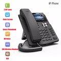 Teléfono IP SOHOIP Industria de teléfonos teléfono 2 líneas SIP Voz HD compatible con POE auriculares Smart Deskphone