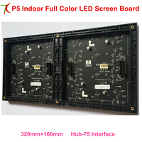 High brightness P5 indoor 8scan full color led board led display for rental cabinet led display led video wall