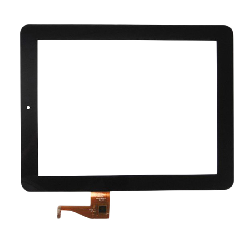 Black New 9.7 Tablet For GoClever TAB A971 Touch screen digitizer panel replacement glass Sensor Free Shipping new black original 10 1 inch goclever tab r104 tablet touch screen digitizer glass touch panel sensor free shipping