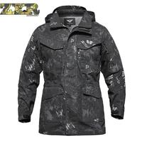Uk Us Army Clothes Casual Tactical Windbreaker Men Winter Autumn Waterproof Flight Pilot Coat Hoodie Military Field Jacket