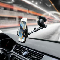 Rotary Suction CD Slot Car Air Vent Clip Mobile Phone Car Holders Stands For Nokia 6