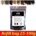 9 Colors hair building fibers usa for hair loss grow in 10 seconds to get fuller hair 100g refill bag