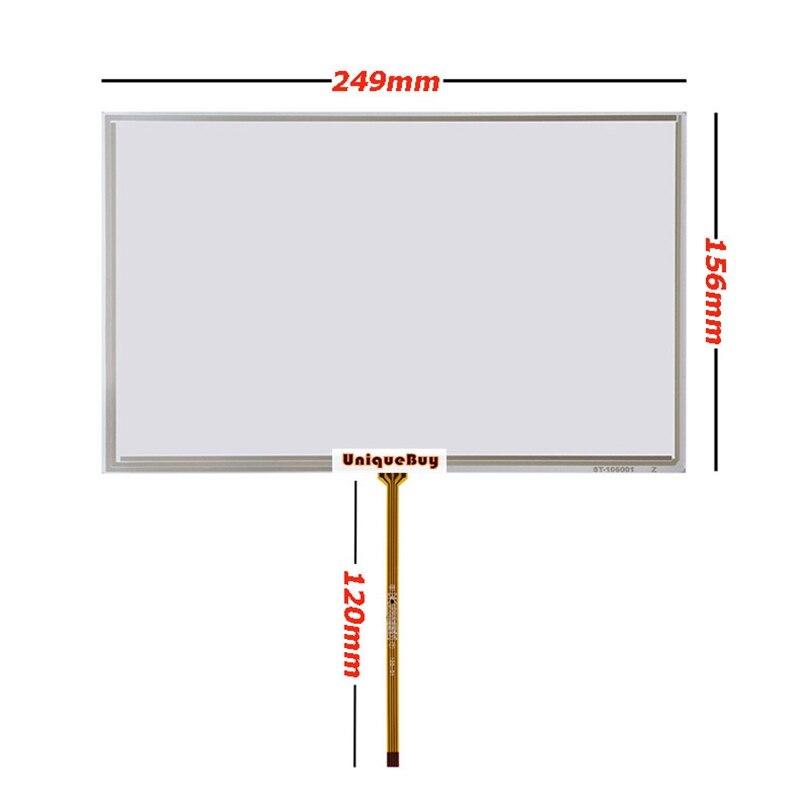 Original para mitsubishi 10.6 polegada 249*156mm AA106TA01-DDA11 substituição resistive da tela de toque