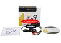 3 5mm Ezcap 216 USB Audio Capture Grabber Edit Audio Cable To Digital For Recording Analog