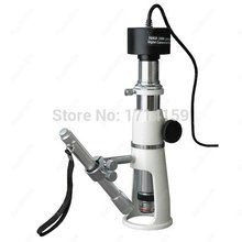 Buy online Shop Measuring Microscope-AmScoe Supplies 20X & 50X Shop Measuring Microscope + 8MP Digital Camera