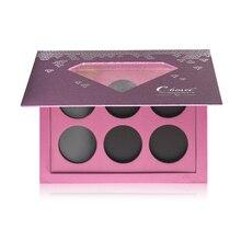 Coosei Eyeshadow Magnetic Palette Purple Makeup Diamond DIY Refill 6pcs 36mm Size Eye Shadows 161*120mm CP6-001