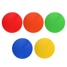 5 компл. Точечные маркеры/плоские конусы напольные круги для упражнений дрели Футбол Баскетбол Спорт Скорость тренировки ловкости и многое другое