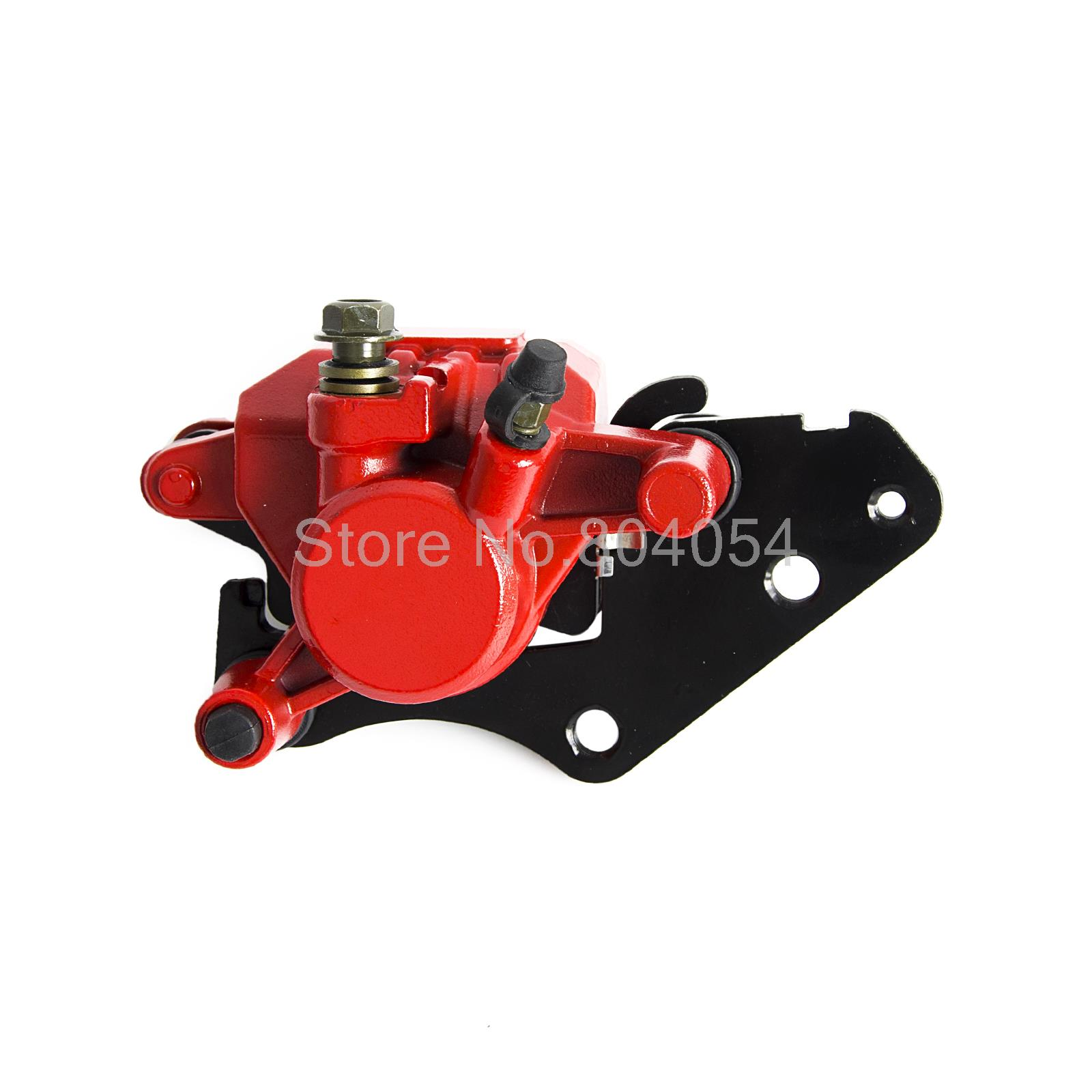 Front Brake Caliper Assy With Pads For Yamaha XC125E Axis Treet 09-13 E53J 10pcs free shipping 216 0707005 216 0707009