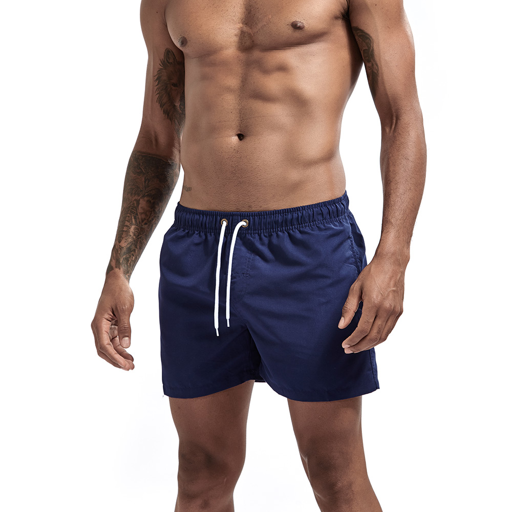 Men's Sport Running Beach   Short     Board   Pants Hot Sell Swim Trunk Pants Quick-drying With Pocket Male Surfing   Shorts   GYM Swimwear