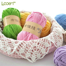 1 PC 100g/pcs 30M Looen Knitting Thick Thread Crochet Cloth Yarn DIY Bag Handbag Carpet Cushion Cotton T-Shirt