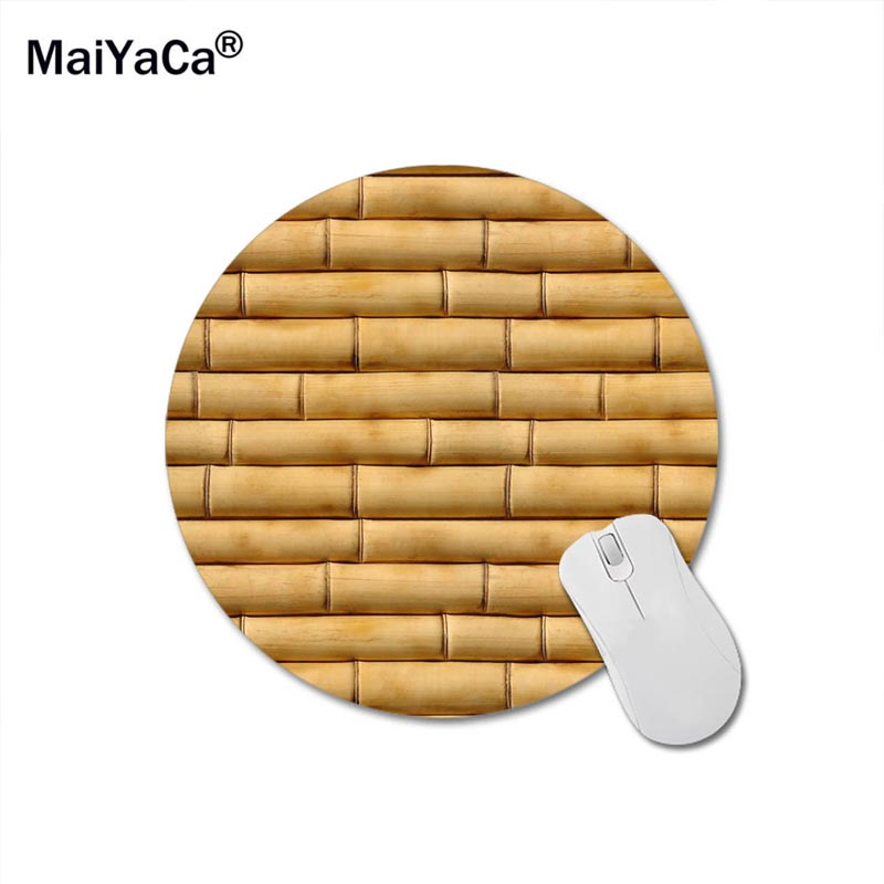 MaiYaCa Bamboo Sticks Mouse Pad Size 200mm*200mm*2mm Lasting Computers and Laptops Mouse Mat