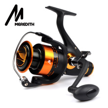 Meredith 4BB 8KG 5.2:1 Double Drag CNC Aluminum Handle Metal Spinning Reels Fishing Reels Carp Reels 3000 4000 5000 6000 Series