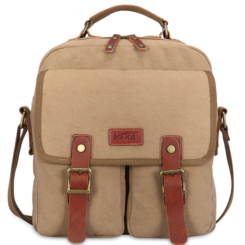 ФОТО 2016 European and American Shoulder Messenger bags man bag business casual canvas shoulder bag  k816