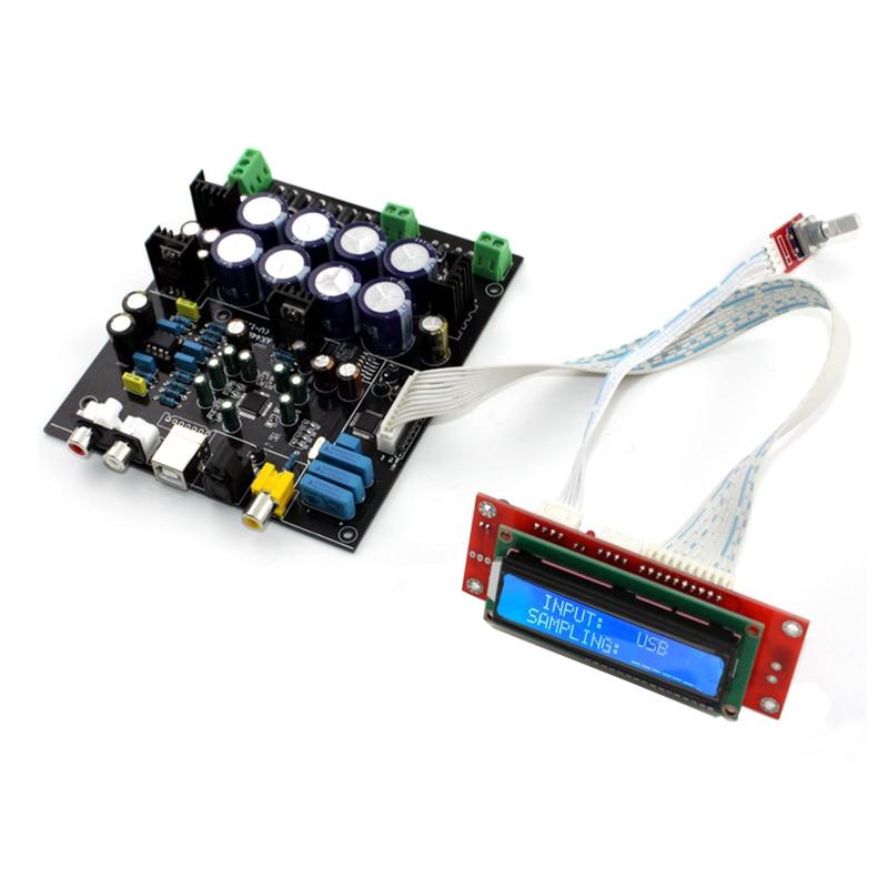 Strukturelle Behinderungen ohne Usb Tochter Karte Ak4118 Ak4490 Op Amp Ne5532 Weiche Kontrolle Dac Audio Decoder Board