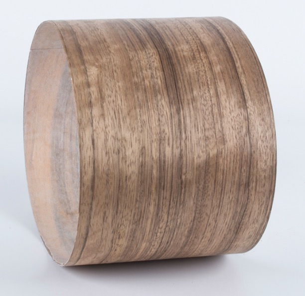 Купить с кэшбэком Length: 2.5Meters/Roll  Thickness:0.25-0.3mm  Width:15cm  Natural Ebony Wood Veneer Furniture Veneer(with Nonwoven fabric)