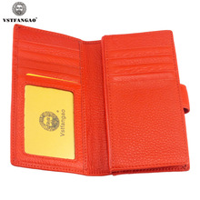 Women s Genuine Leather Card Holder Credit Card Cover Wallets for Women ID Holders Package Organizer