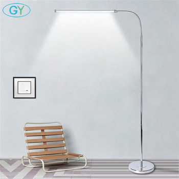 Modern 9W 12W 15W LED Floor Lamp remote dimmable stand Lights living room piano reading standing lighting led floor lighting