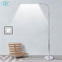 Moderne 9W 12W 15W LED Boden Lampe fernbedienung dimmbare stehen Lichter wohnzimmer klavier lesen stehend beleuchtung led boden beleuchtung