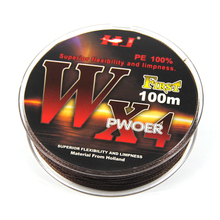 100M Synthetic PE + Nylon + Steel Wire Braid Fishing line Anti Bite Sink Saltwater Fresh Water Carp Fishing Leader / Tippet Line