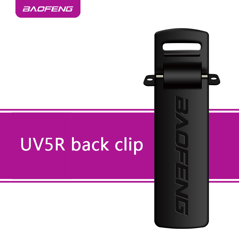 Baofeng LOGO 10pcs Back Belt Clip BAOFENG UV-5R UV5RHP UV5R For Pofung UV5R Retevis RT-5R 2 Way Radio Walkie Talkie Accessories