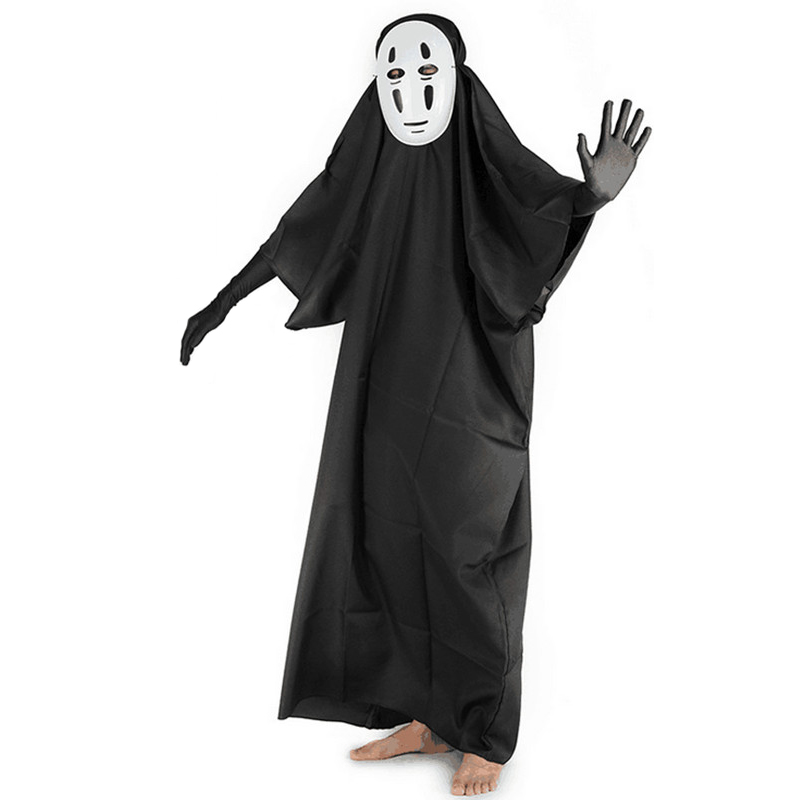Adult Mens/Childrens Anime No Face Man Cosplay Costumes Boys Spirited Away Costume Kids Halloween Japanese Costume for Men S 3XL on Aliexpress.com | Alibaba ...  sc 1 st  AliExpress.com & Adult Mens/Childrens Anime No Face Man Cosplay Costumes Boys ...