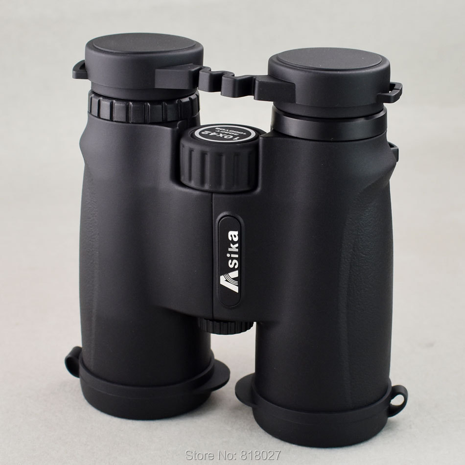 Фотография Asika 10x42 Binoculars High Quality Camping Hunting Scopes Telescopes Bak4 Prism Optics Waterproof Nitrogen Prismaticos De Caza