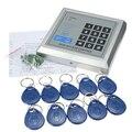 Segurança de Proximidade RFID Entrada Da Porta Bloqueio do Sistema de Controle de Acesso Do Usuário 500 + 10 Chaves