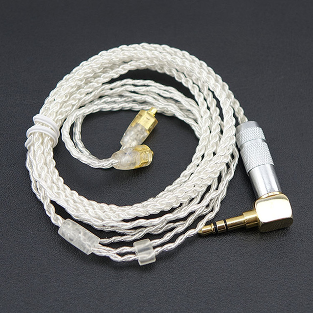 AK новое обновление посеребренный кабель, 14 core отсоедините кабель для Shure SE215 SE315 SE425 SE535 SE846, UE900