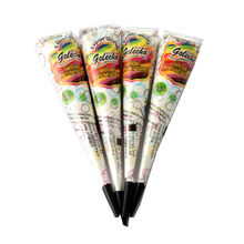 Popular Tattoo Cream Black Natural Herbal Henna Natural Tube Cones Indian Temporary Tattoos Body Art Kit Paint Tool