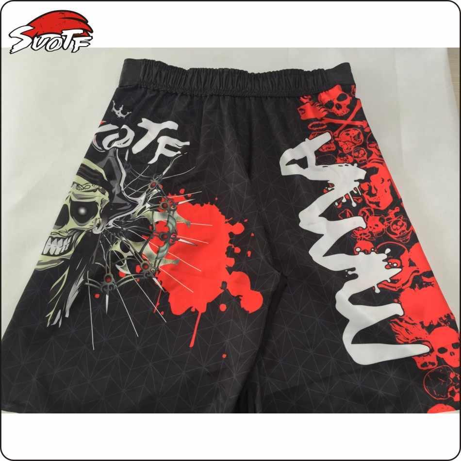 Kebugaran Olahraga Aerobik Berjalan Tinju Celana Tiger Muay Thai Pakaian Tinju Celana Pendek PRETORIAN Guard Muay Thai Boxing Boxeo dengan Harga Murah