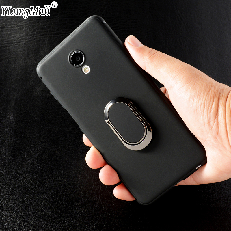YLungMall Meizu M6S Case for Meizu M6 M5 M3 Note Cover M3S Mini M5S MX6 Pro 7 6 15 Plus Lite Ring Magnetic Car Holder Phone Case ...