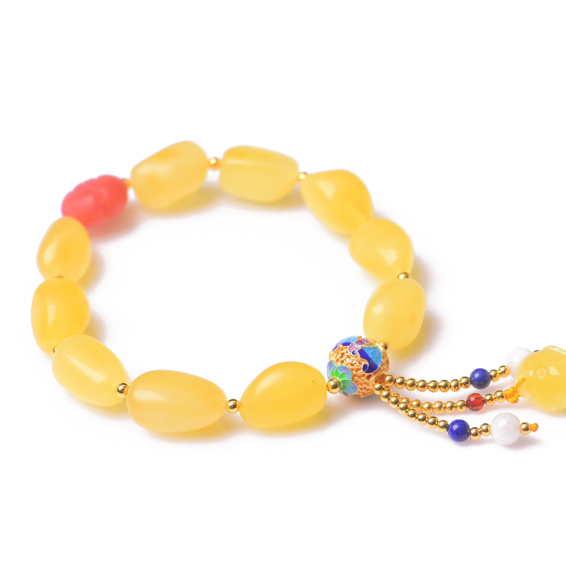 Handmade Authentic Wax Crystal Beads Bracelets carbohydrates 14