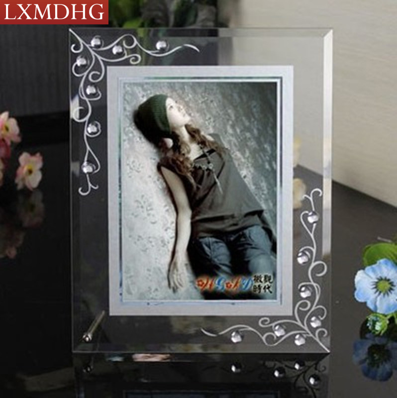 Glass Photo Frame For Photo Picture Frames Home Decor