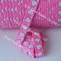 Мяч спорт FOE 1.5 см оптовая пользовательские печати foe упругой, бесплатная Доставка 100 Ярдов Волейбол отпечатано раз по сравнению с упругой (ярко-розовый)