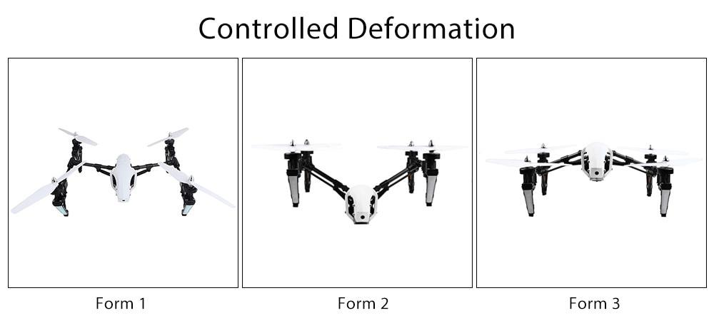 Q333 Professional RC Drone Deformation Modes