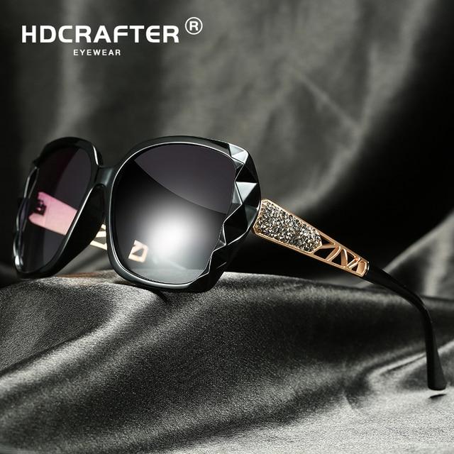 3118fad5a0c Luxury Brand Design Polarized Sunglasses Women Ladies Oversized Square  Gradient Sun Glasses Female Eyewear Oculos UV400