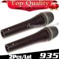 2Pcs Cardioid Vocal Dynamic Wired Microphone Mic For e935 e 935 Computer Stage Singer Karaoke Mikrofon Microfone fio Microfono