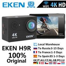 Cámara de Acción EKEN H9 H9R Ultra HD 4 K/25fps WiFi 2,0 170D casco impermeable subacuático Cámara cámara de deporte