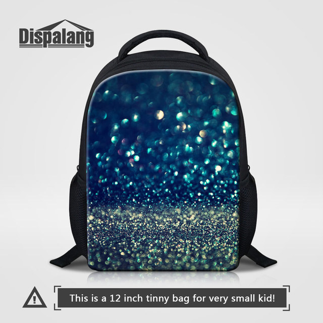Dispalang Personality Galaxy School Backpacks For Children Mini Bookbags Stars Sands Printed Mochila Y Rucksack Kids