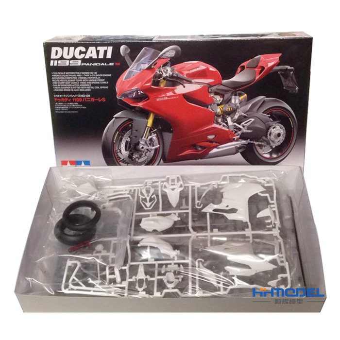 1/12 Panigle S 14129 Ducati 1199 Motorcycle Model when tamiya model motorcycle ducati ducati 1199 1 12 panigle s 14129 model buiding kits